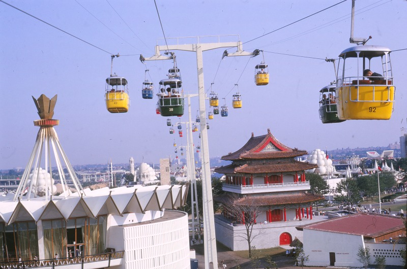 02 1964.08 Worlds Fair Cable Car Ride
